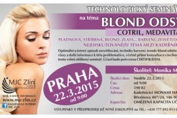 Školení na Blond odstíny MedaVita, Cotril, NHP