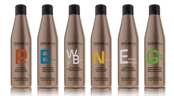 Šampóny Salerm Cosmetics dle typů vlasů a vlasové pokožky