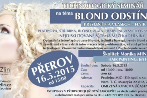 Školení Blond odstíny Přerov