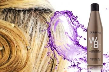 Salerm Šampón na bílé vlasy