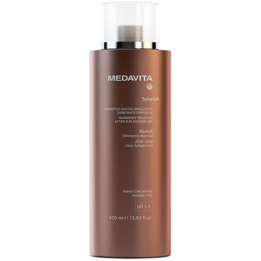 MedaVita Solarich šampón pro vlasy a tělo po slunění
