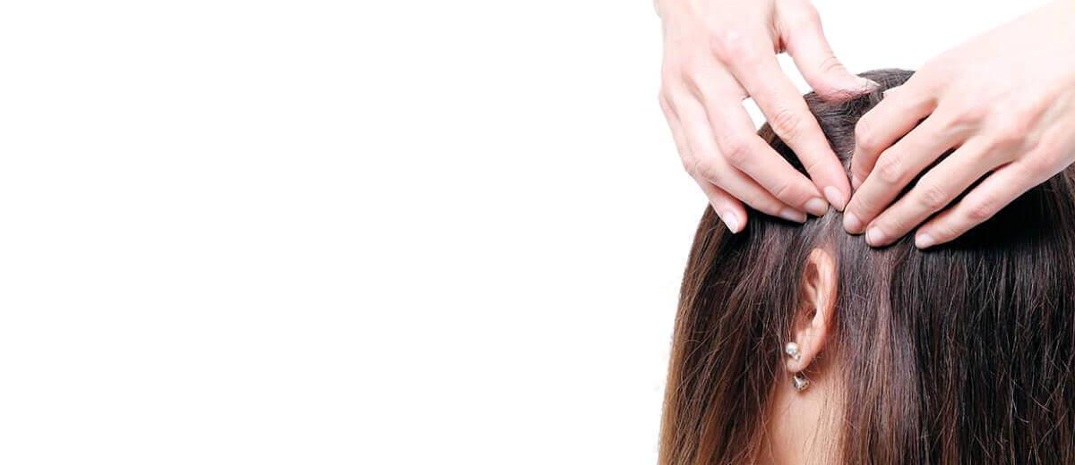 Masáž vlasové pokožky 3