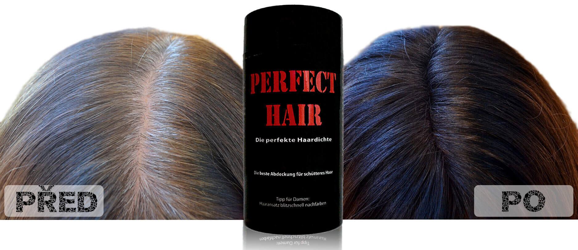 Perfect hair testování
