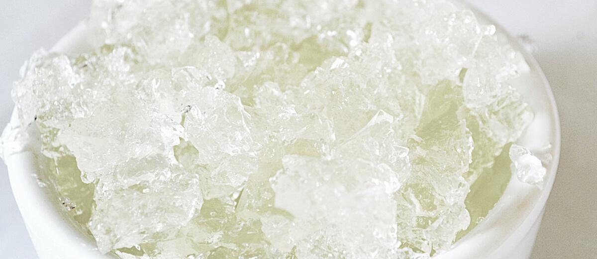 Citrónový gel na vlasy