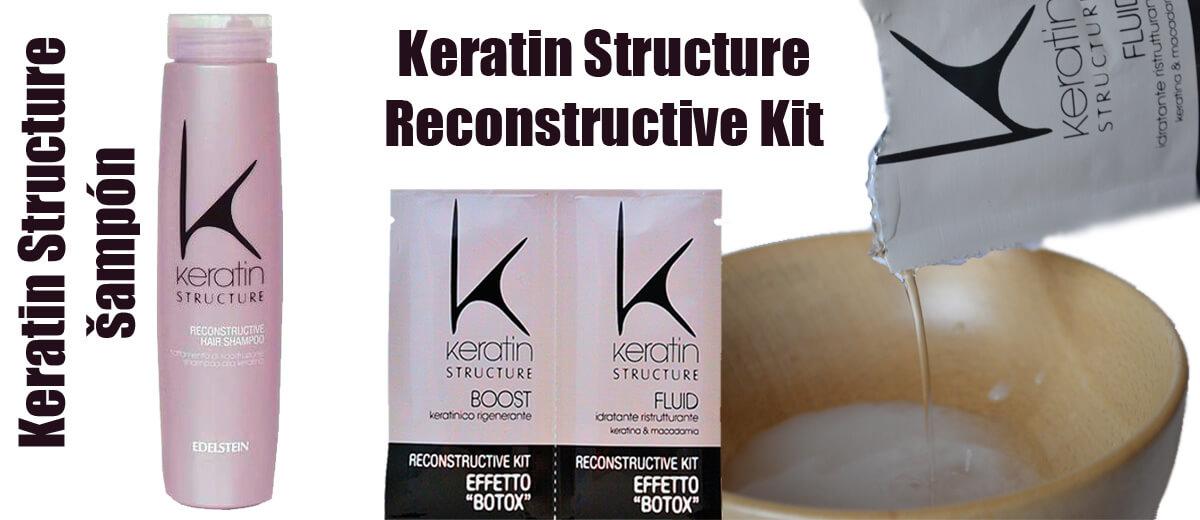 Keratin Structure Reconstructive Kit kúra