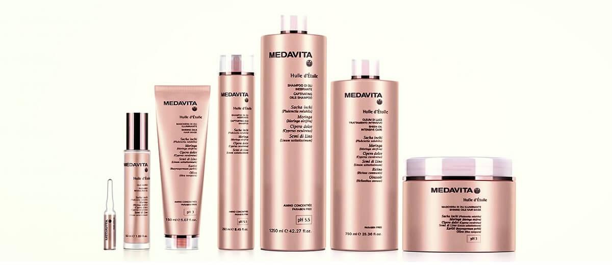 Olejová péče na vlasy MedaVita Huile d´Étoile