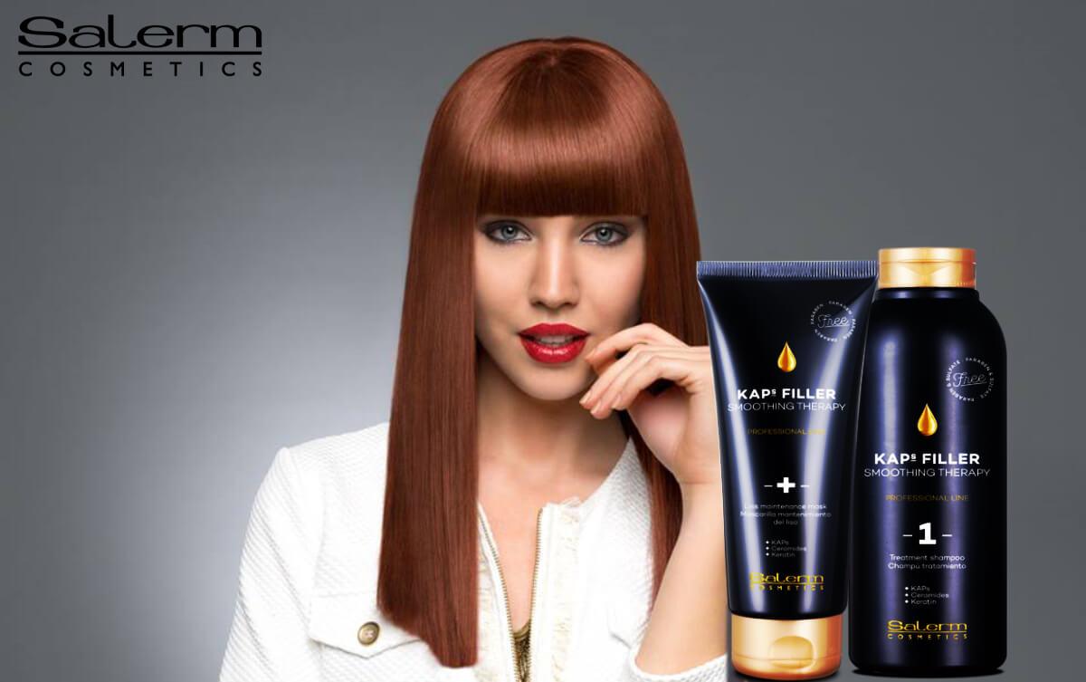 Salerm KAPS FILLER Obnovující ošetření vlasů s vyhlazením