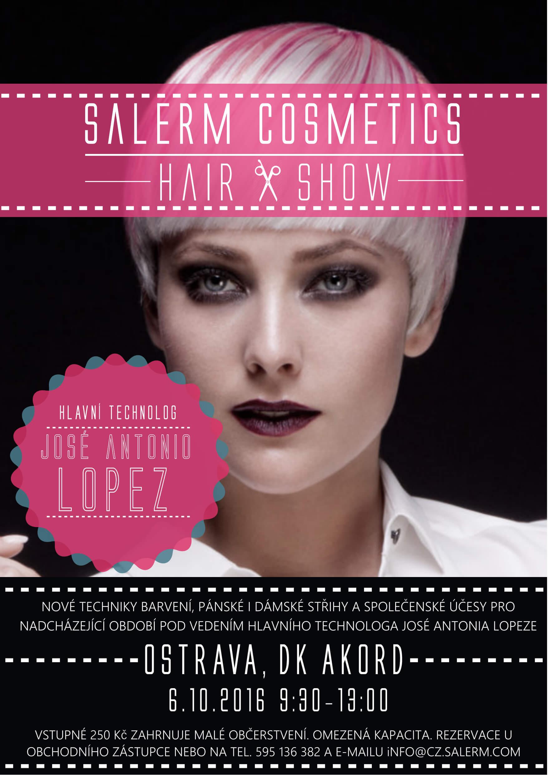 Podzimní Hair Show Salerm Cosmetics 2016