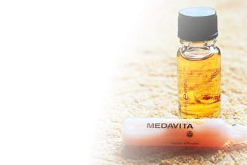 Arganový olej Biokera Arganology y a MedaVita Huile d'Étoile ampule Oleo Lift pH 3,5