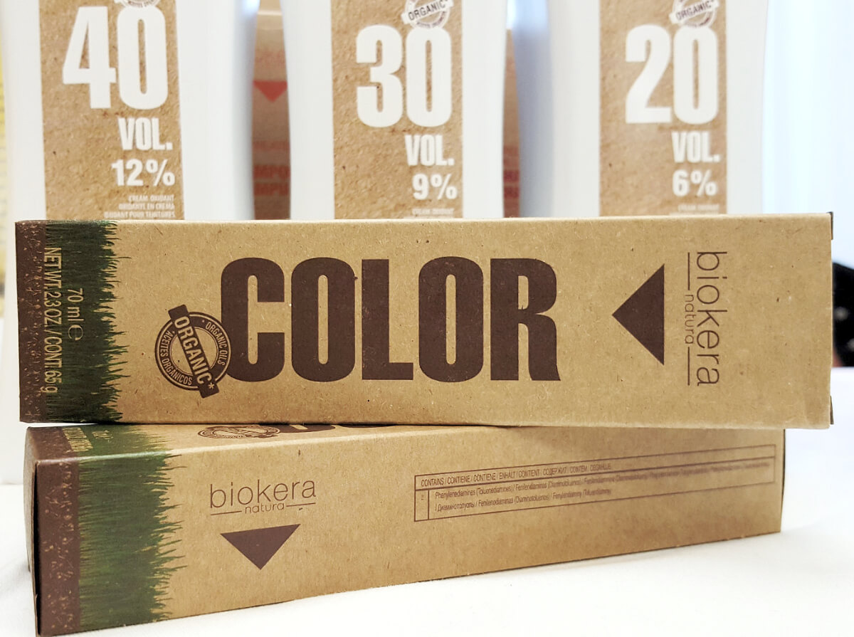 Biokera Natura Color barva na vlasy
