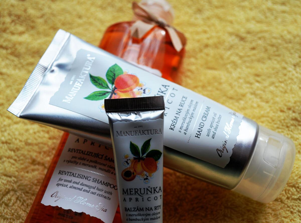 Manufaktura krém na ruce, balzám na rty a revitalizační šampón