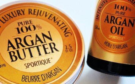 Sportique arganové máslo a olej