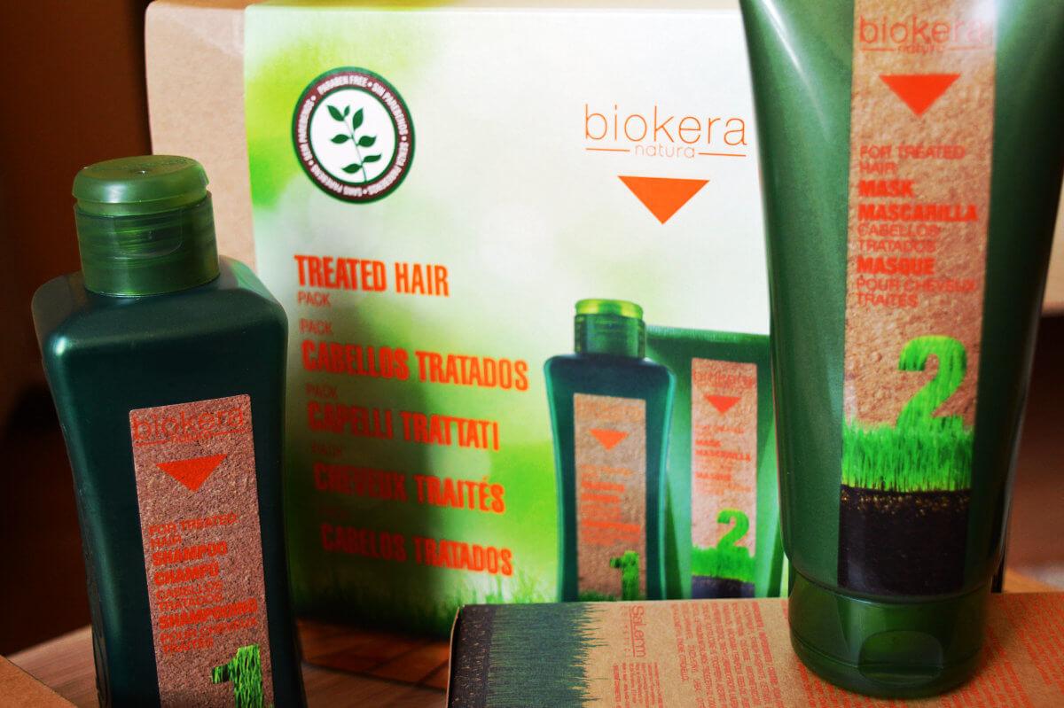 Šampón a maska na vlasy Salerm Biokera TREATED