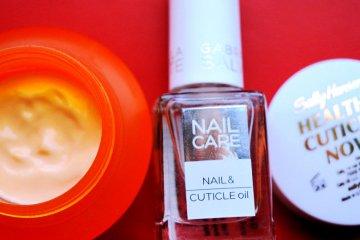 Péče o nehty - krém a vyživující olej