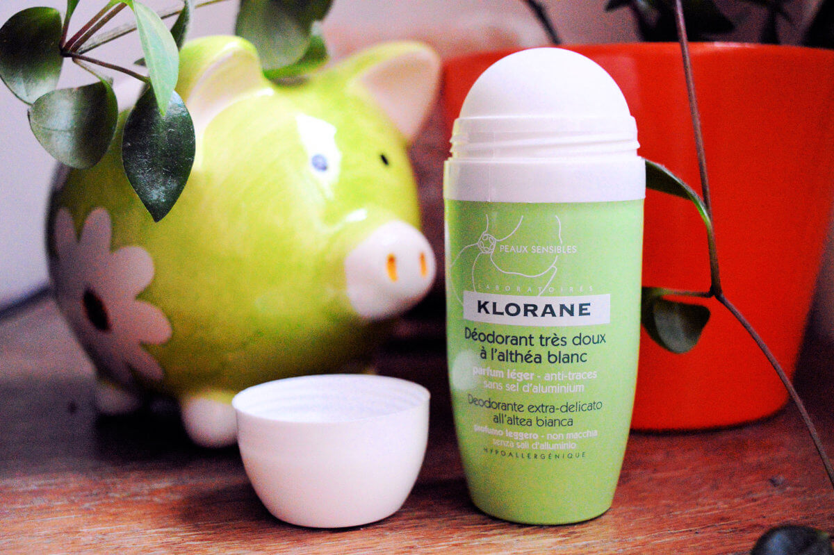 Klorane Hygiene et Soins du Corps kuličkový deodorant roll-on