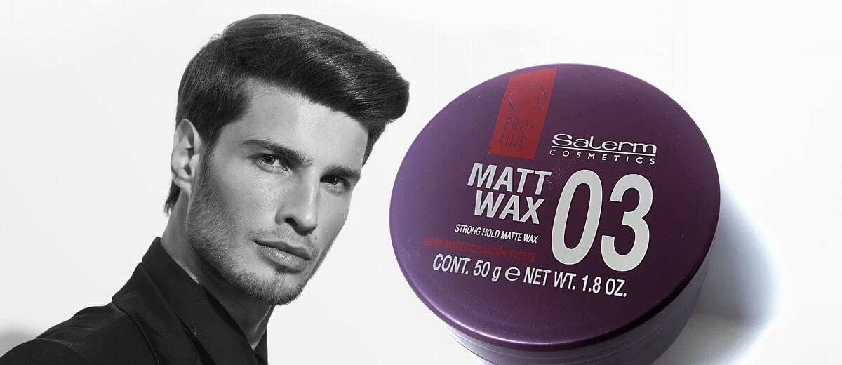 Salerm Pro.Line 03 Matt Wax matující pasta