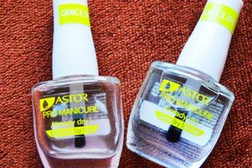 Astor Pro Manicure rychleschnoucí vrchní lak na nehty