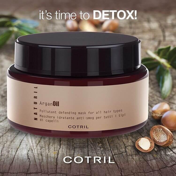 Cotril Naturil hydratační maska Argan Oil