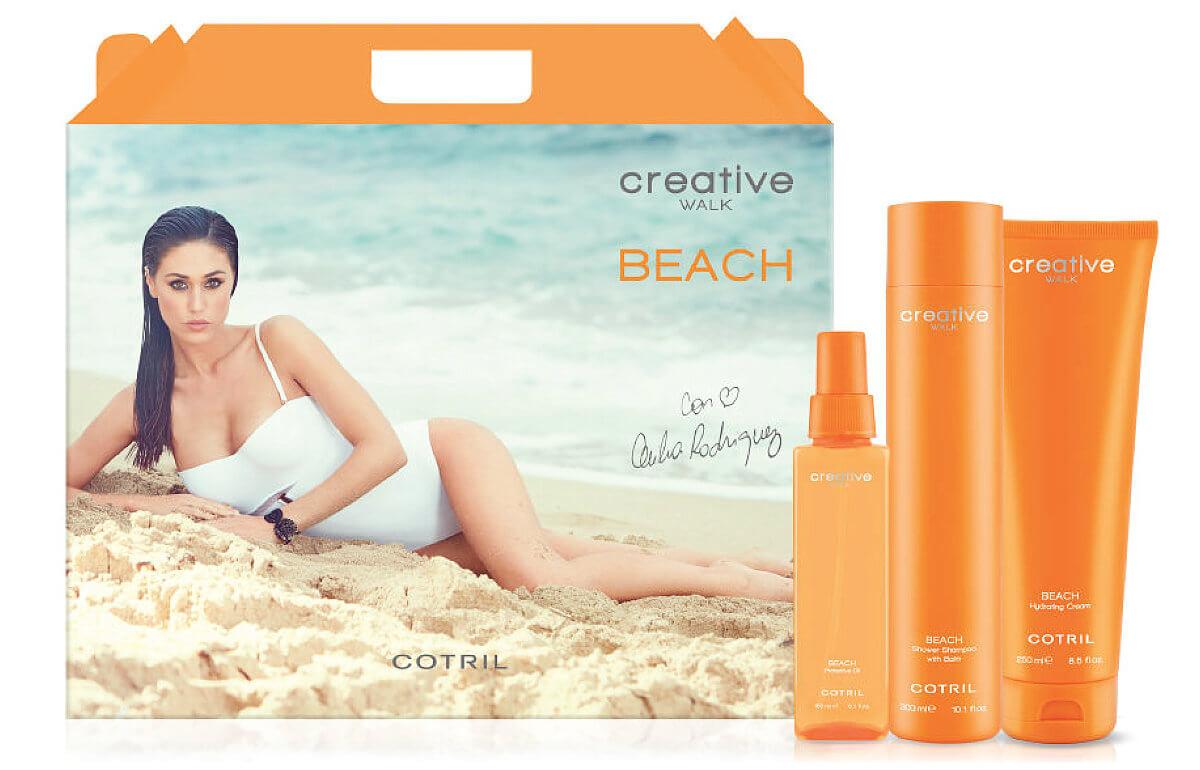 Cotril Creative Wakl Beach sluneční kosmetika na vlasy a tělo