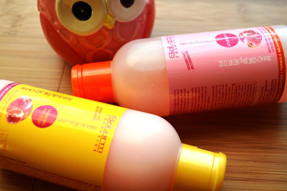 Salerm Pomegranate šampón a balzám pro časté použití
