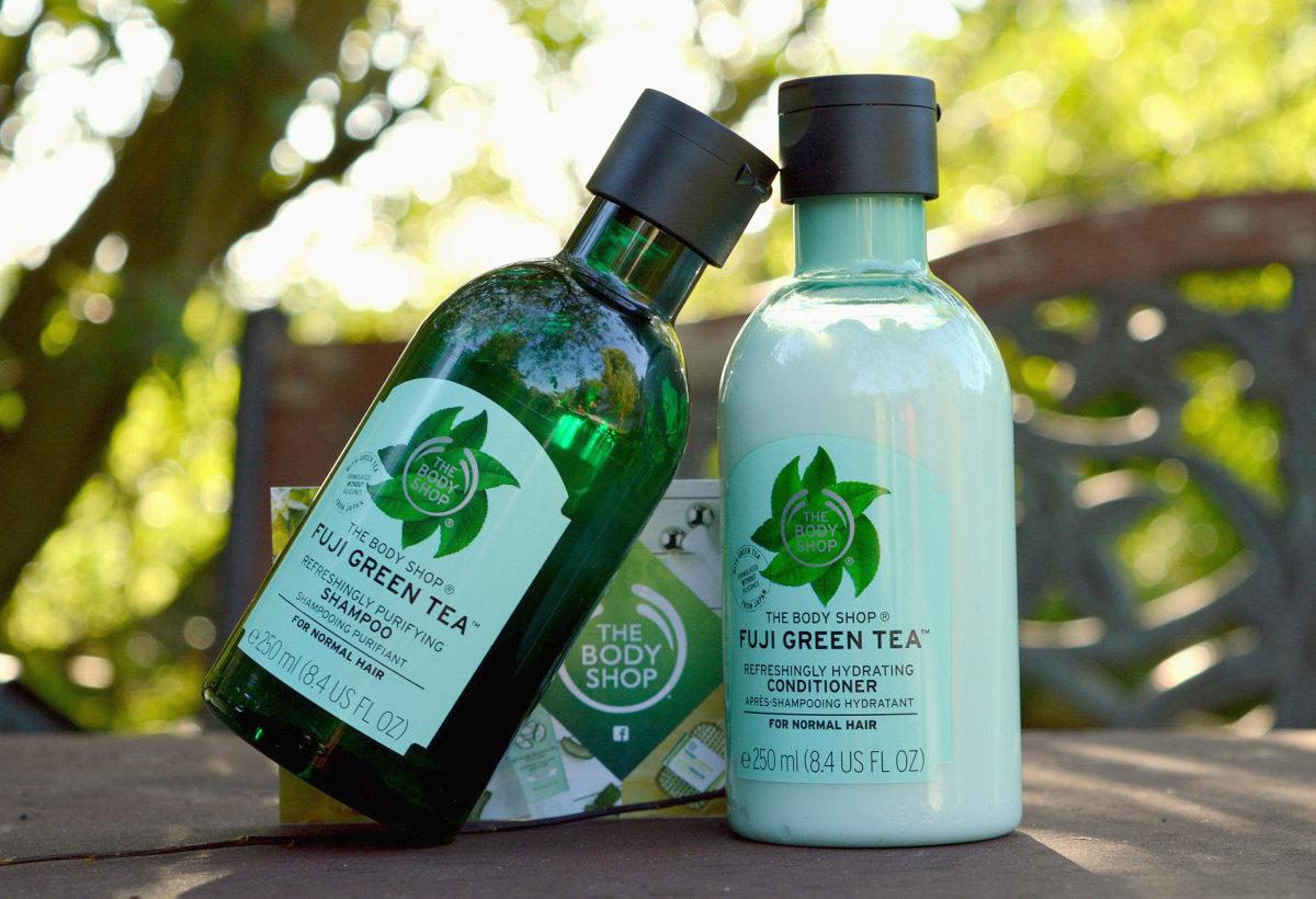 Šampon a kondicionér s výtažky se zeleného čaje