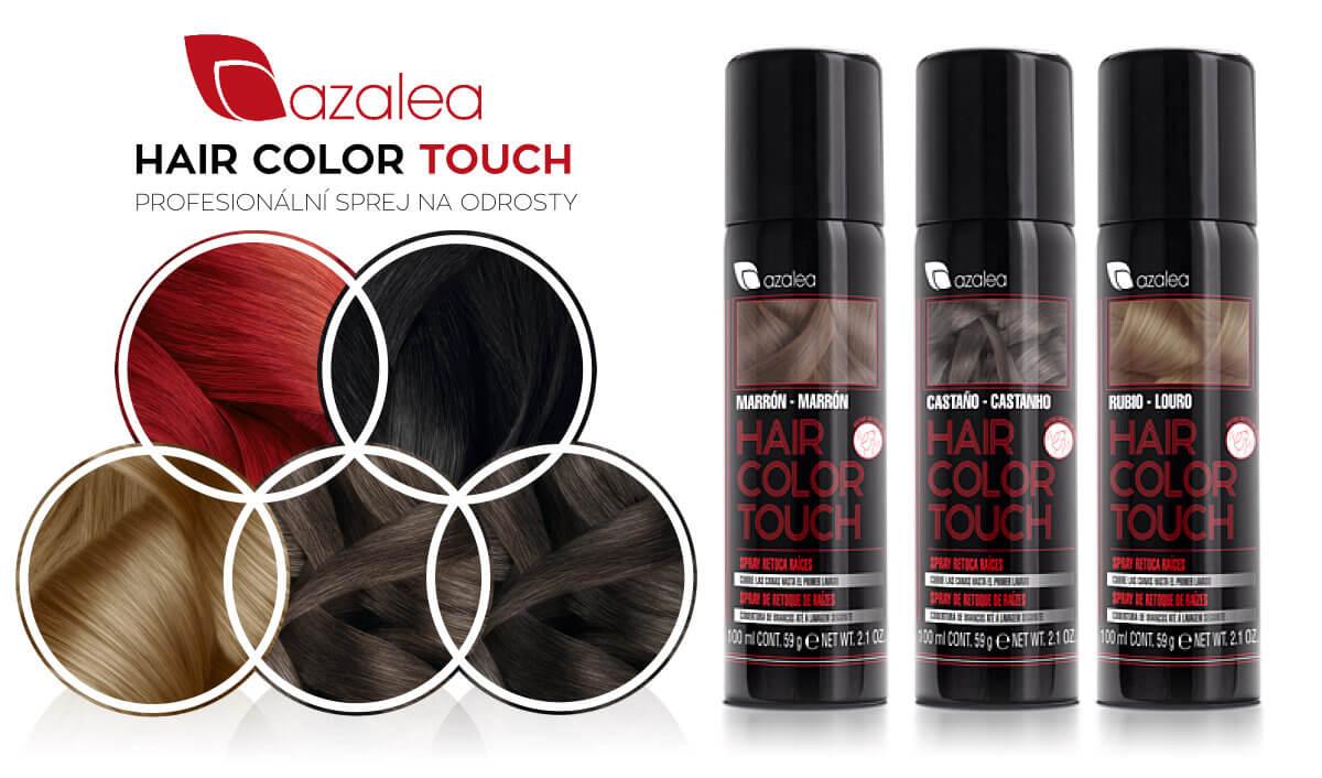 Profesionální sprej na odrosty Azalea Hair Color Touch