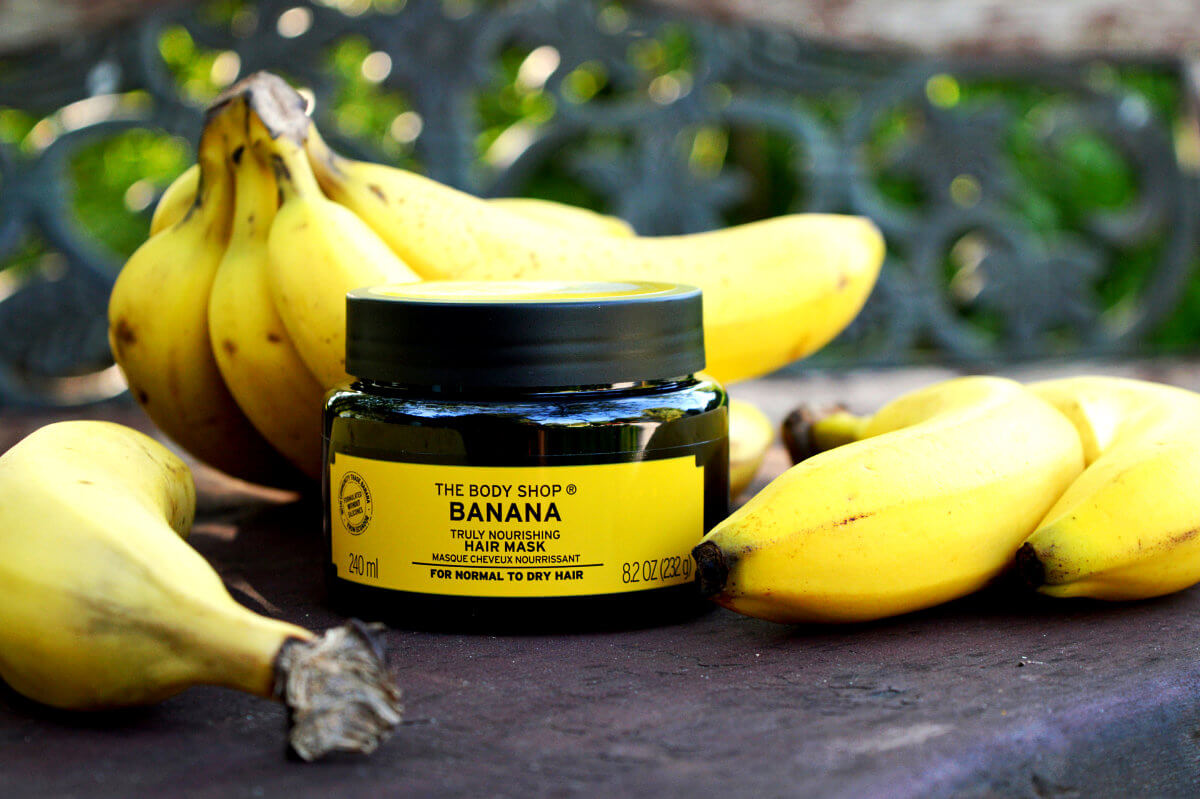 Vyživující a neodolatelně voňavá banánová maska na vlasy