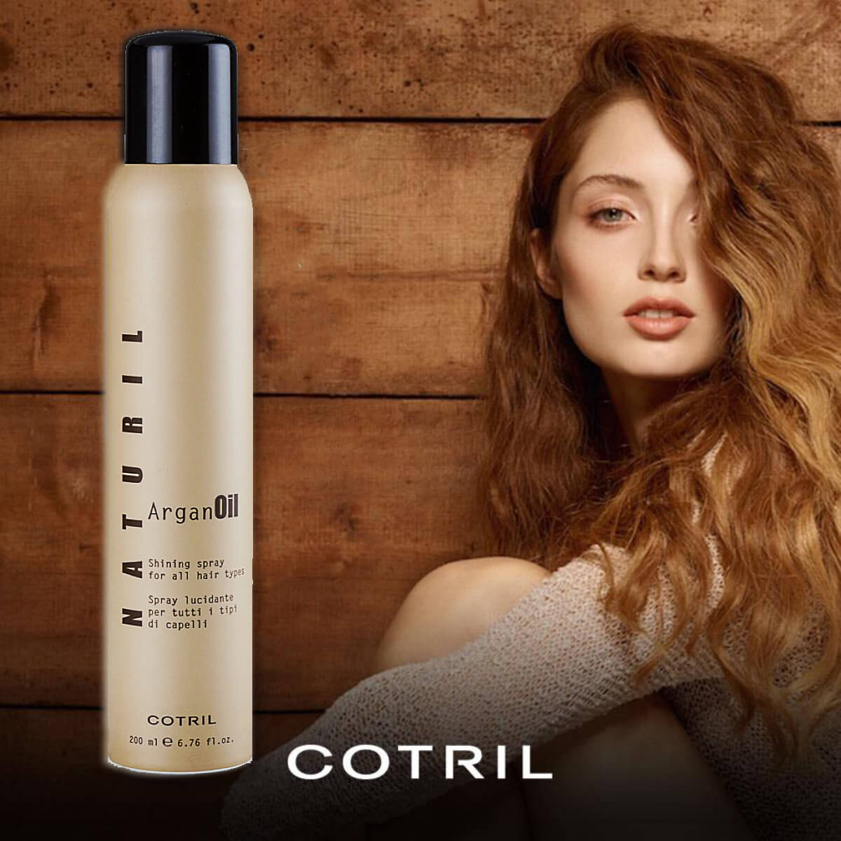 Cotril Naturil ArganOil lesk na vlasy