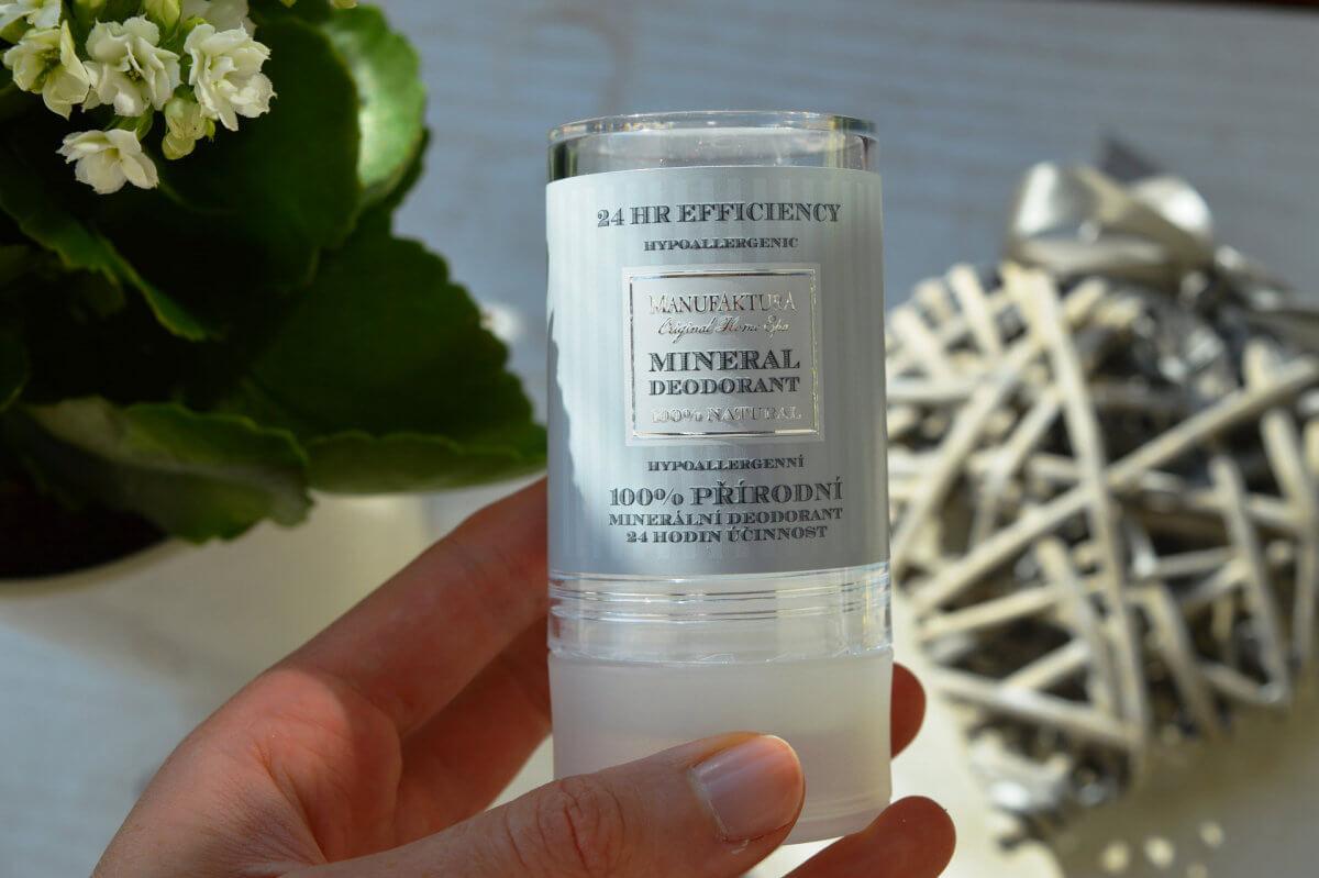 100% přírodní minerální deodorant