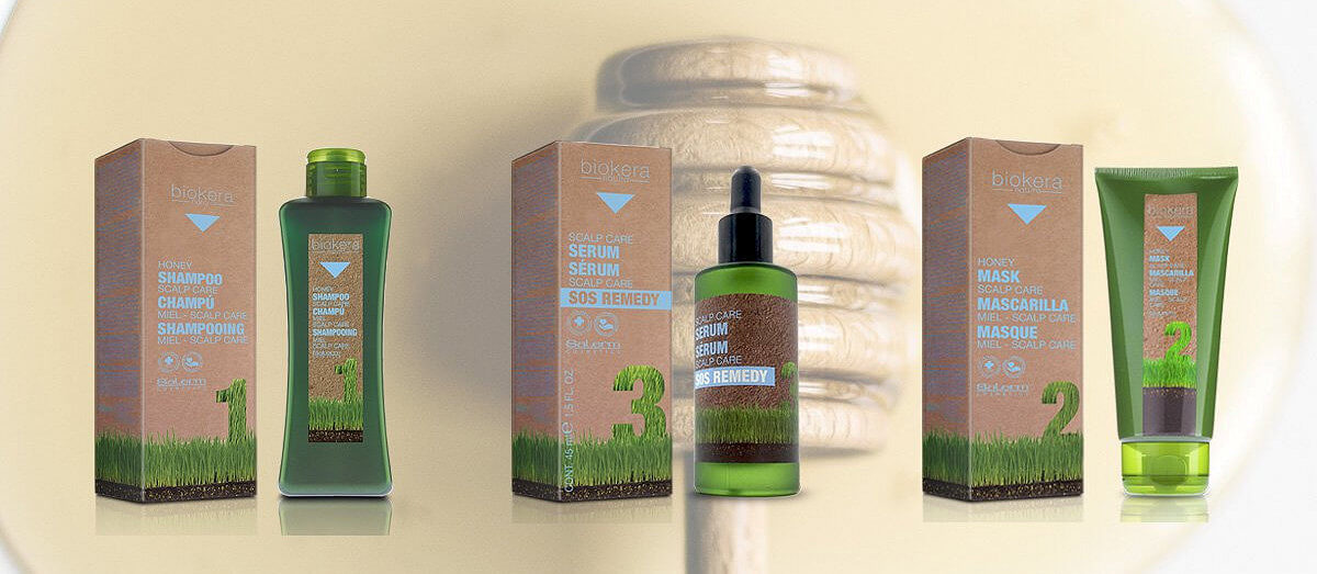 Salerm Biokera Scalp Care pro citlivou vlasovou pokožku