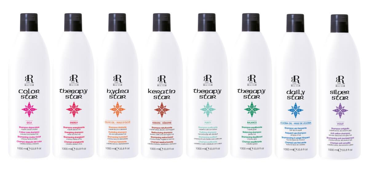 RR Line řada šampónů pro péči o délky i pokožku