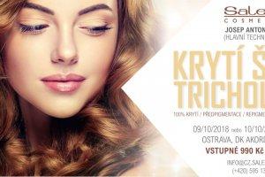 Pozvánka na seminář Salerm Cosmetics: Perfektní krytí šedin a trichologie vlasové kosmetiky