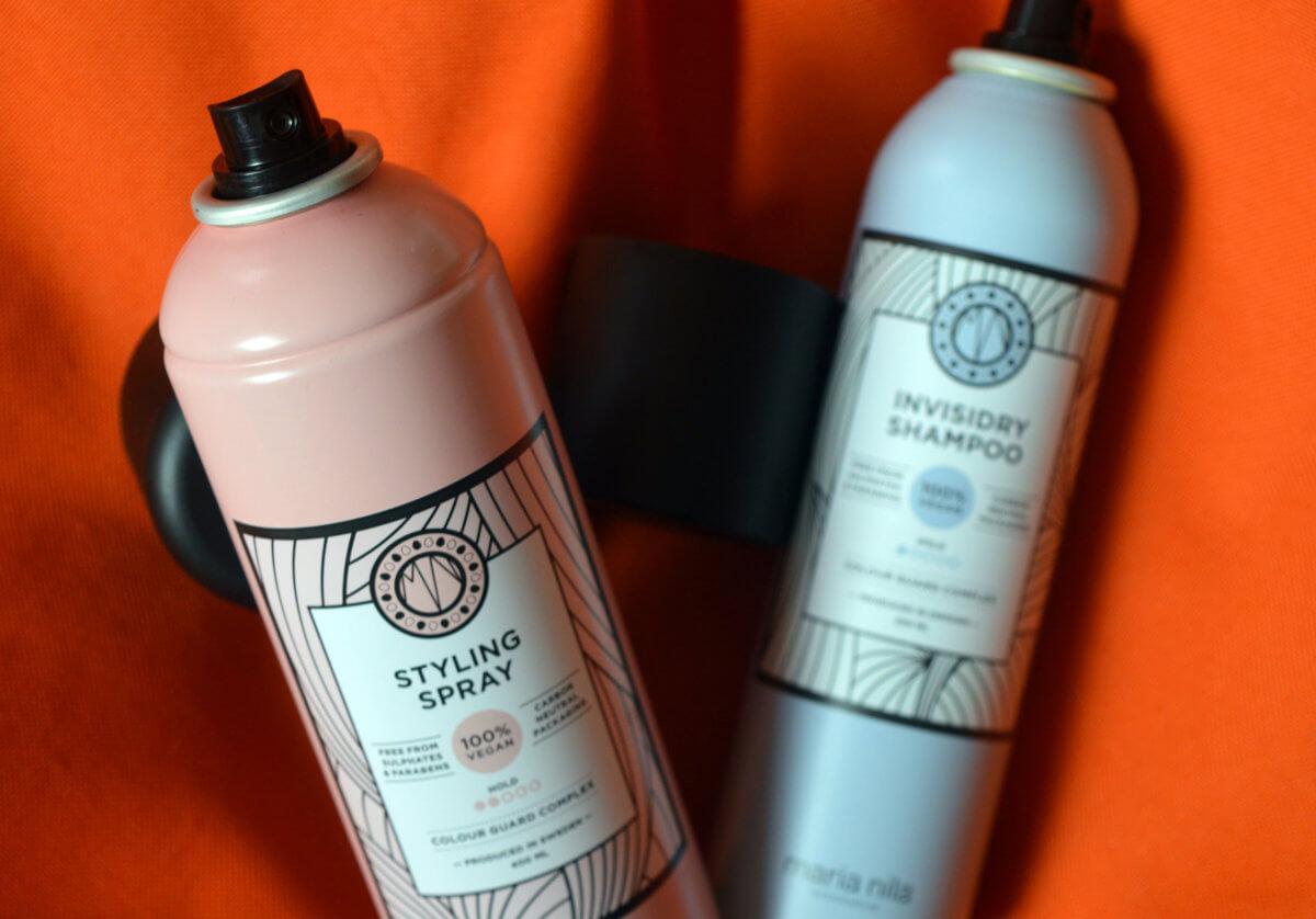 Styling Spray pro lehkou fixaci a přirozený lesk