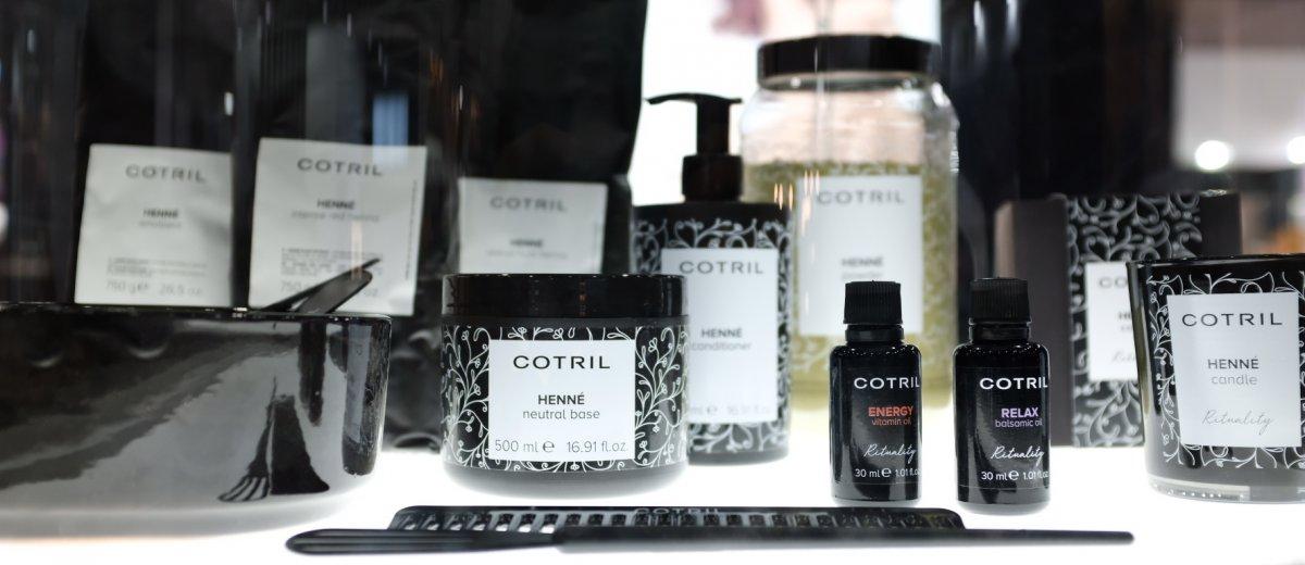 100% veganské barvení vlasů Cotril Henné
