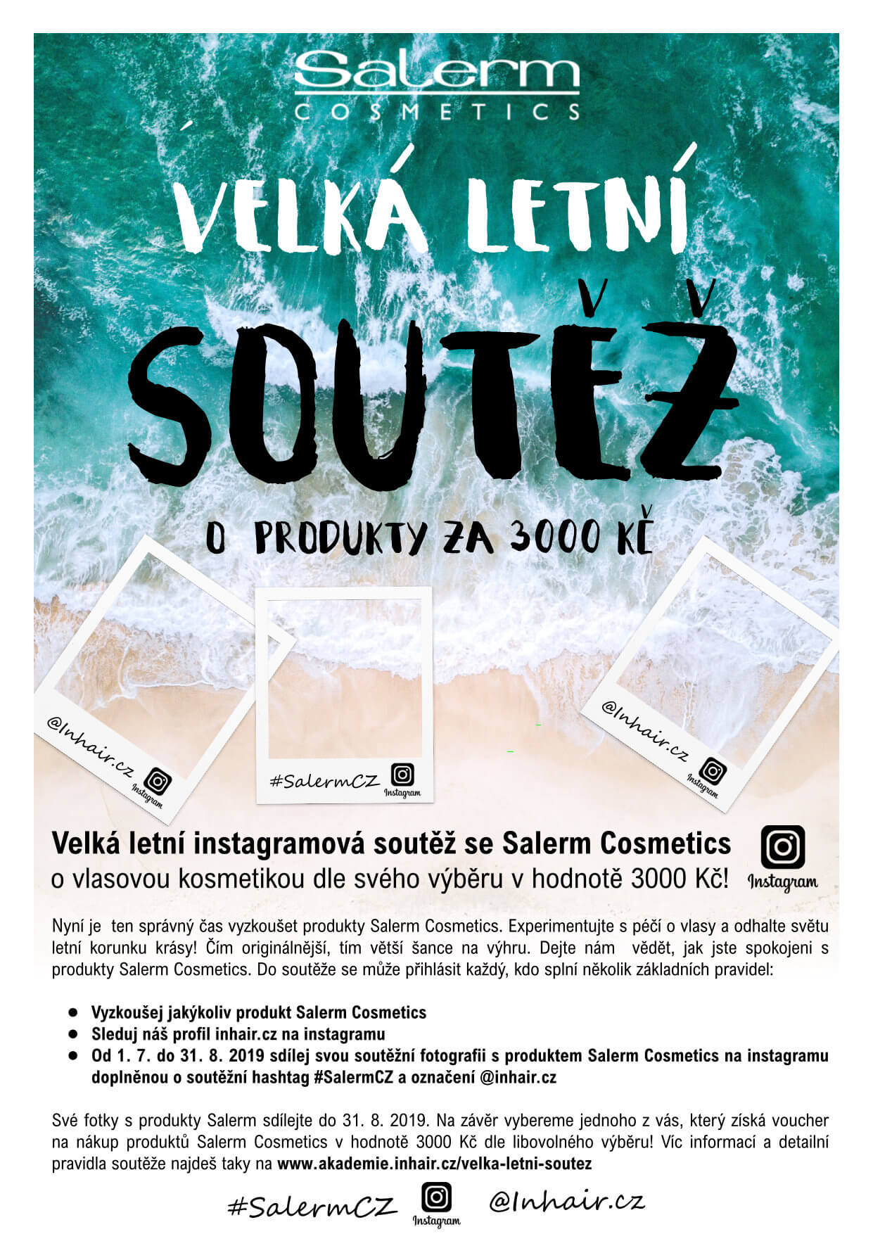 Velká letní soutěž se Salerm Cosmetics o produkty v hodnotě 3000 Kč