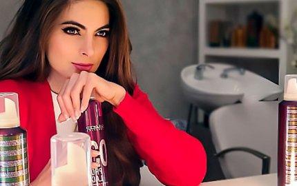 Miss Universe Mexico & Salerm Cosmetics Pro.Line Styling
