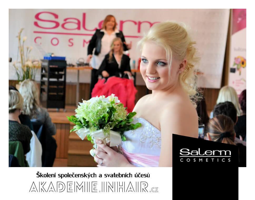 Školení společenských a svatebních účesů Salerm Cosmetics