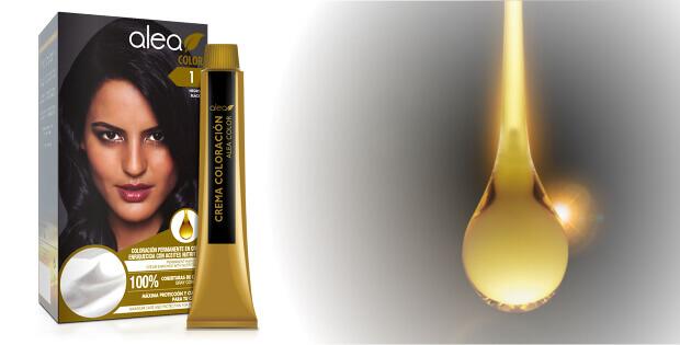 Permanentní barva na vlasy Alea Color