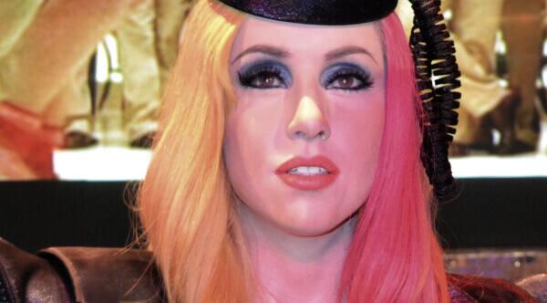 Lady Gaga barvené vlasy