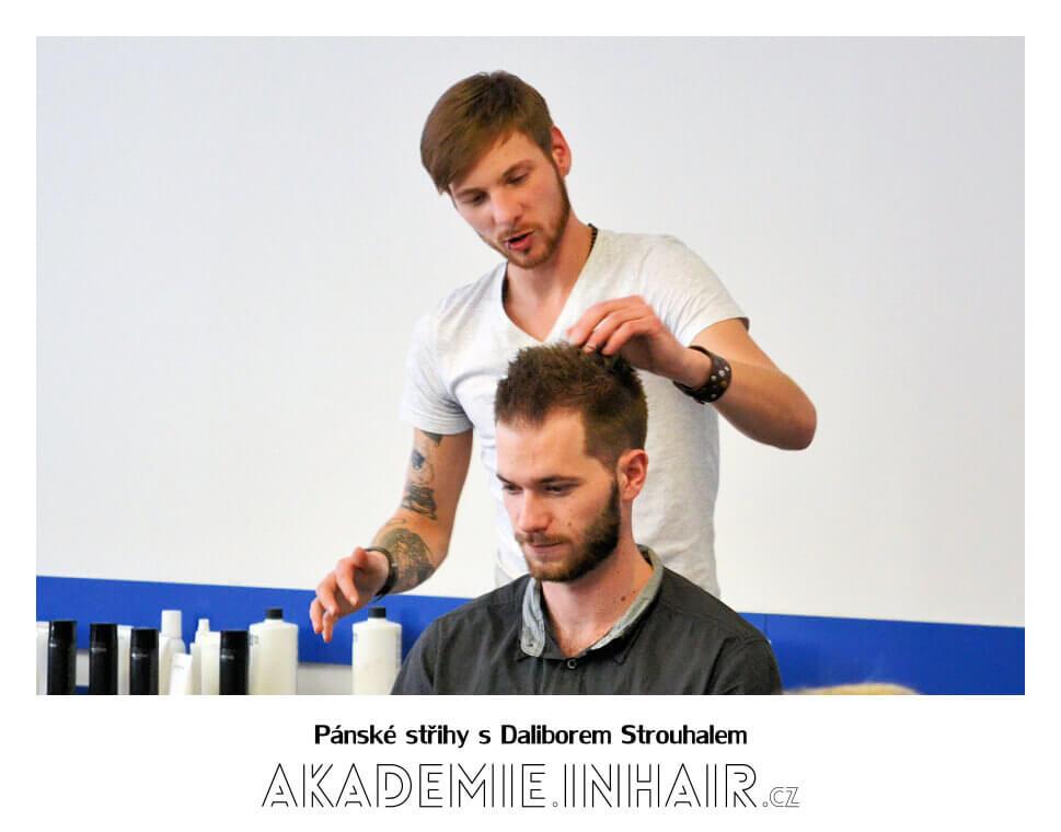 Pánské střihy s Daliborem Strouhalem