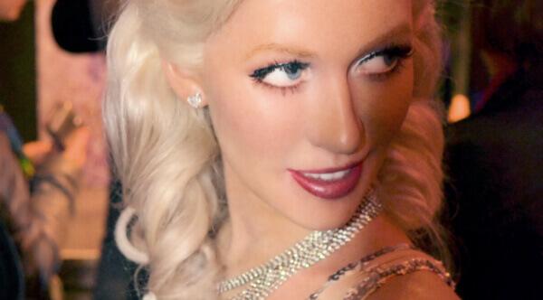 Paris Hilton melírované vlasy