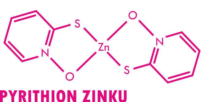 Pyrithion zinku