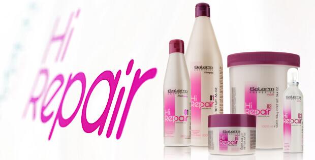 Salerm Hi Repair pro obnovu poškozených vlasů