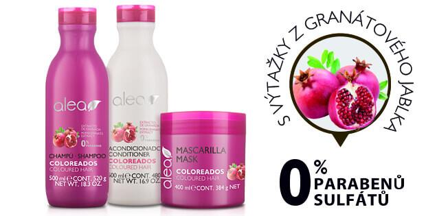 Vlasoví kosmetika Alea Coloreados pro barvené vlasy