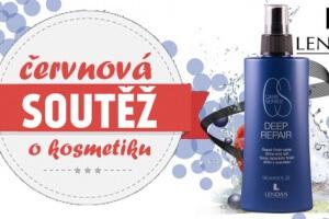 Červnová soutěž o vlasovou kosmetiku Lendan Deep Repair Finish