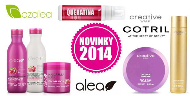 Novinky vlasová kosmetika 2014
