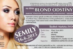 Seminář Blond odstíny Semily