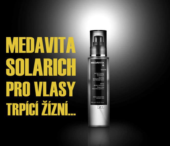 Sluneční řada vlasové kosmetiky MedaVita Solarich