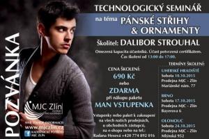 Pánské střihy a účesy s Daliborem Strouhalem