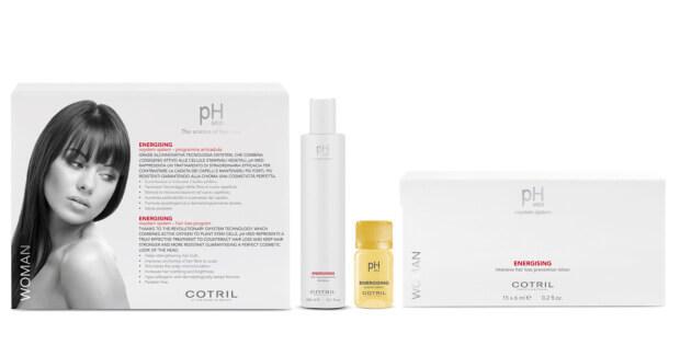 Cotril pH MED ENERGISING WOMAN proti padání vlasů pro ženy